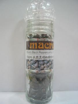 Macro~天然黑胡椒調味研磨罐50公克/罐