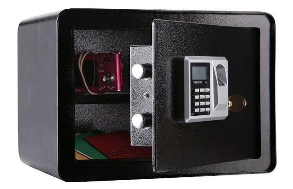 一般指紋型(小)保險箱(MW1030)金庫/防盜/電子式密碼鎖/保險櫃