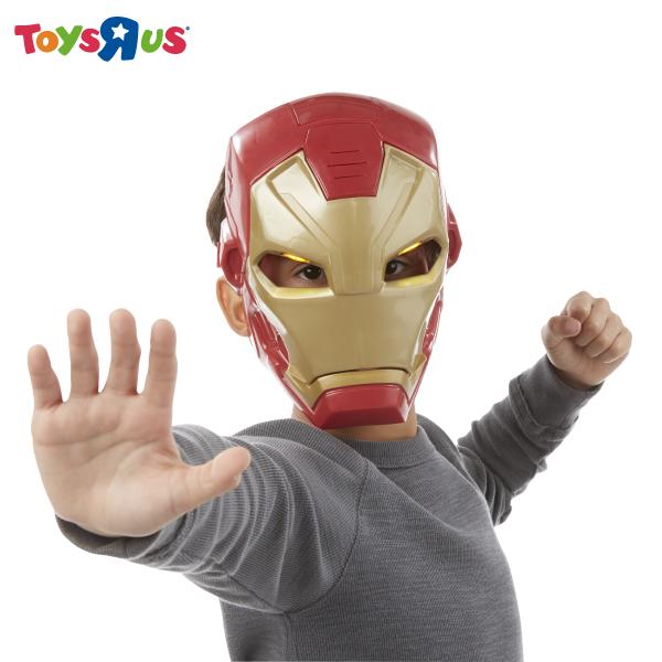 玩具反斗城 漫威美國隊長3 電影聲光開合鋼鐵人面具