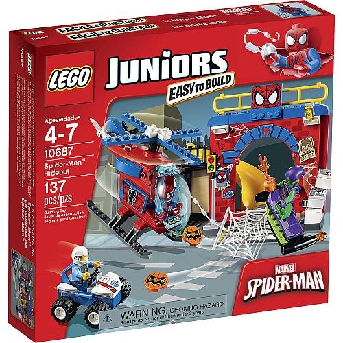 【LEGO 樂高積木】Juniors系列 - 蜘蛛人藏身處 LT 10687