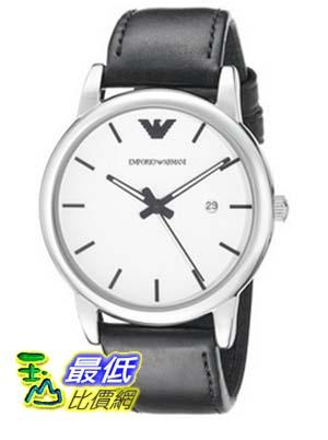 [COSCO代購 如果沒搶到鄭重道歉] Emporio Armani Classic 系列皮革石英男錶 _W941815