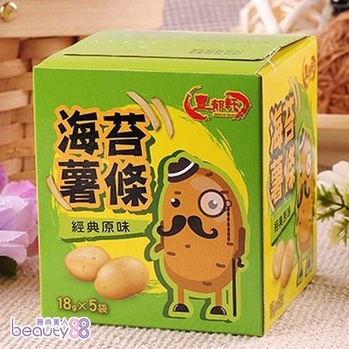 180092 【豐郁軒】海苔薯條/阿根廷鮮烤魷魚3盒(口味任選)