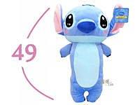 【真愛日本】11111700002 3號全身長抱枕49cmST 迪士尼 星際寶貝 史迪奇 靠枕
