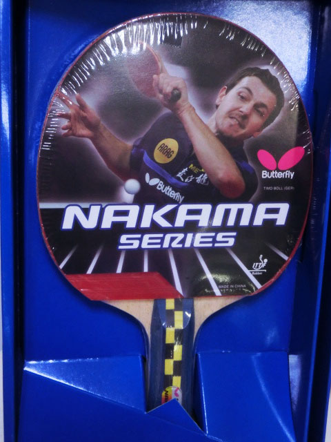 【登瑞體育】BUTTERFLY 桌球拍  _ nakama s4