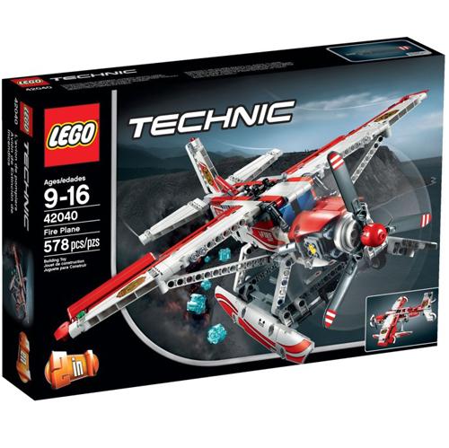 樂高積木 LEGO《 LT42040 》2015 年 創意大師 Technic 系列 - 消防飛機