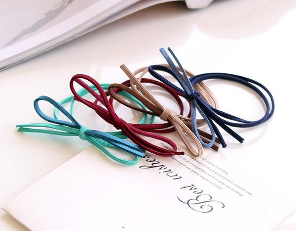 韓國連線髮束蝴蝶橡皮筋髮繩3入髮束042583熱門代購海渡