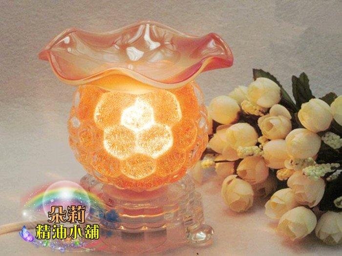 朵莉小舖 水晶葡萄造型精油燈,買就送純精油10ml一瓶任選~拍賣最便宜390元~插電玻璃薰香燈