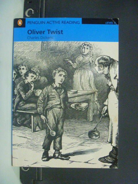【書寶二手書T3/語言學習_JEP】Oliver Twist: Level 4_Dickens Charles_附光碟