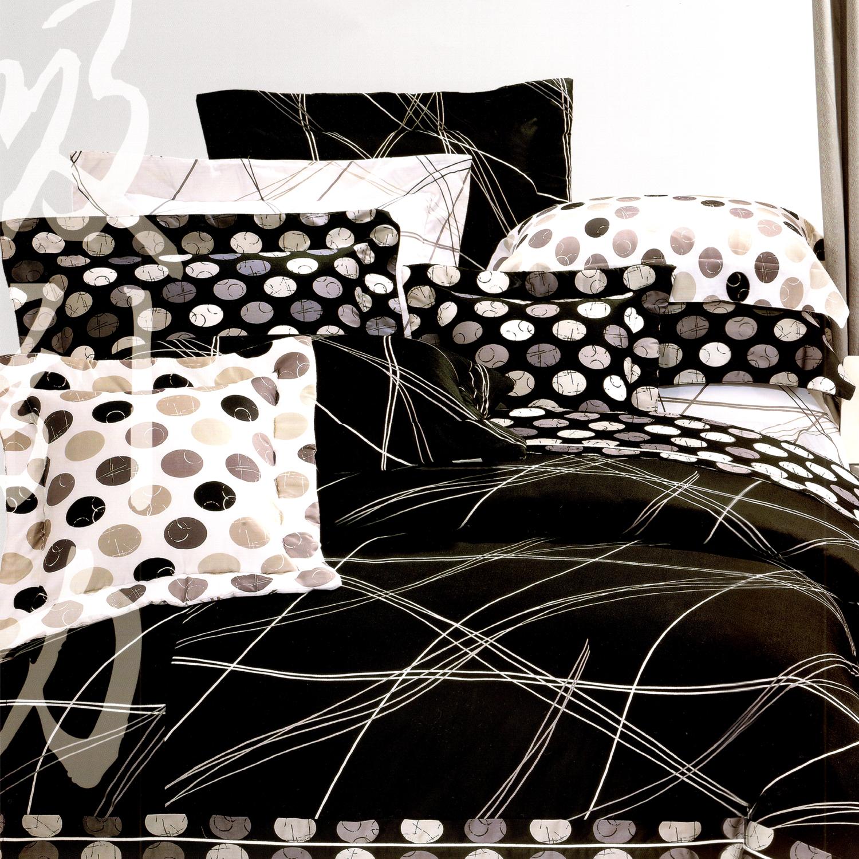 【名流寢飾家居館】線性空間.100%精梳棉.加大單人床罩組全套.全程臺灣製造