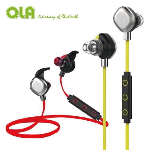 QLA BR939S Plus 防水運動型 立體聲藍牙耳機 藍牙4.0 A2DP IPX7防水 一對二 公司貨