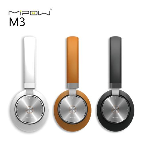 Mipow M3 耳罩式藍牙耳機 頭戴式 藍牙4.0 A2DP 雙待機 HFP apt-X 抗噪 公司貨