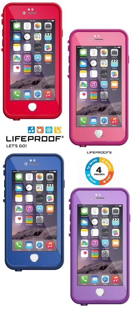 Lifeproof for iPhone 6 防水 防摔 防震 軍規 標準 保護殼 台灣代理公司貨 彩色 防水殼