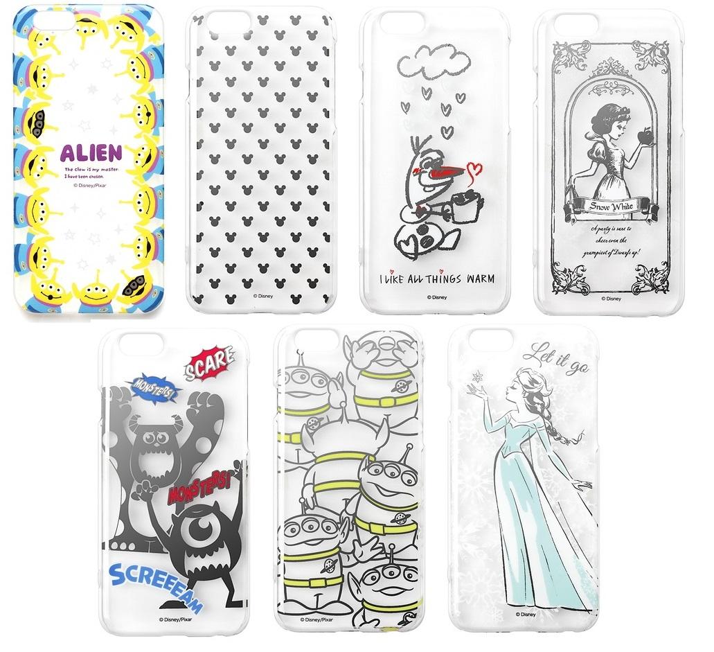 PGA 日本迪士尼授權 iPhone 6 4.7 透明 保護殼 米奇 白雪公主 怪獸電力公司 三眼怪 艾莎 雪寶