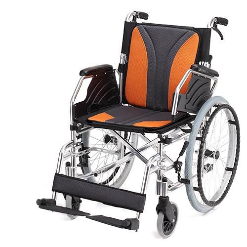 均佳 機械式輪椅(未滅菌) 鋁合金製 JW-160
