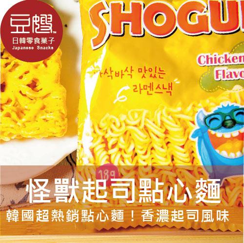 【豆嫂】韓國熱銷 怪獸香脆雞汁起司點心麵(辦公室必備)