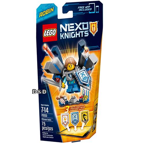 樂高積木LEGO《 LT70333 》Nexo Knights 未來騎士系列 - 終極未來騎士羅賓