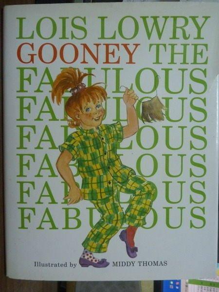 【書寶二手書T5/原文書_QLE】Gooney the Fabulous_Lowry
