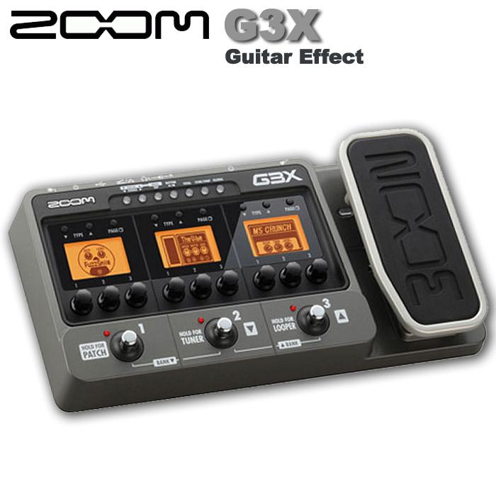 【非凡樂器】Zoom G3X 電吉他地板綜合效果器(X版本含踏板) 原廠公司貨保固一年/贈導線.變壓器