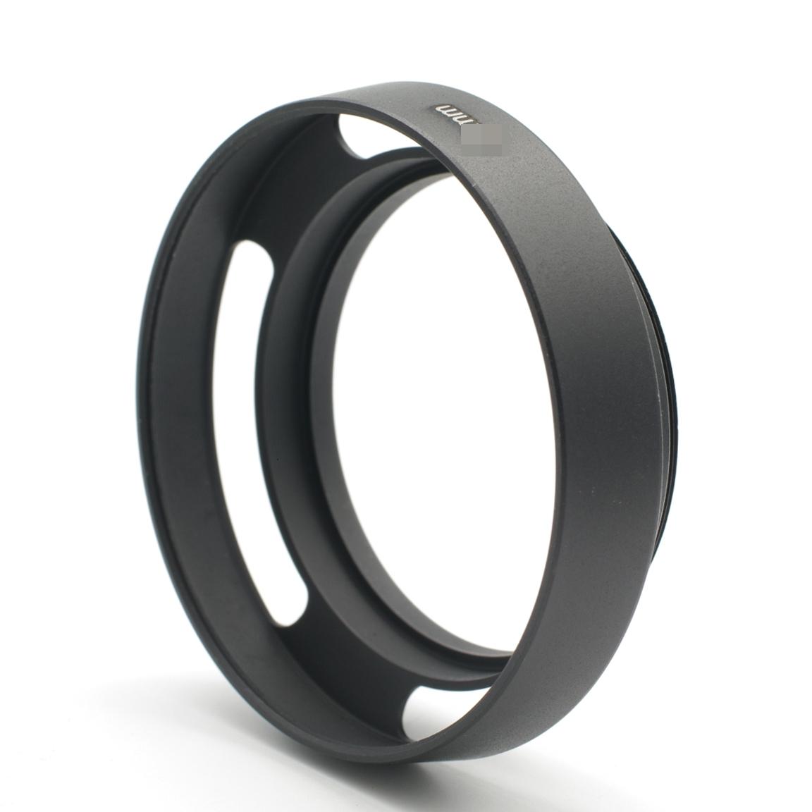又敗家@黑色標準仿Leica徠卡型62mm遮光罩(螺紋,斜口內凹)螺牙螺口仿萊卡開口型太陽罩lens hood鏤空導流型遮陽罩Carl Zeiss Kern