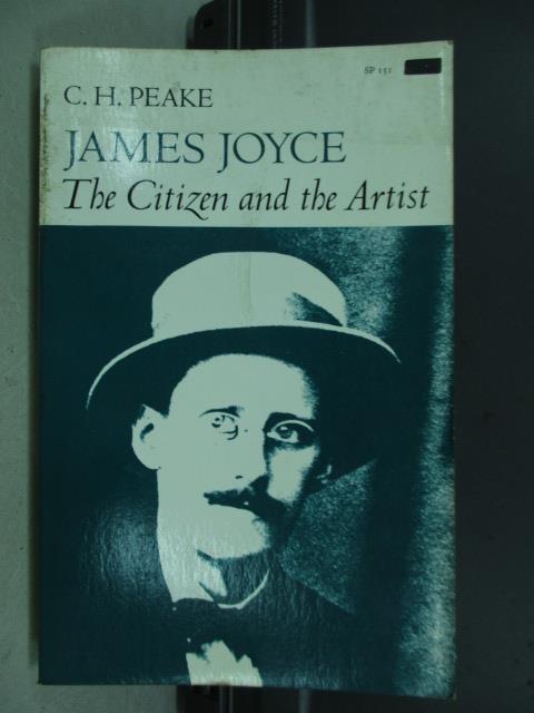 【書寶二手書T6/原文小說_JBL】The citizen and the artist_C.H.Peake