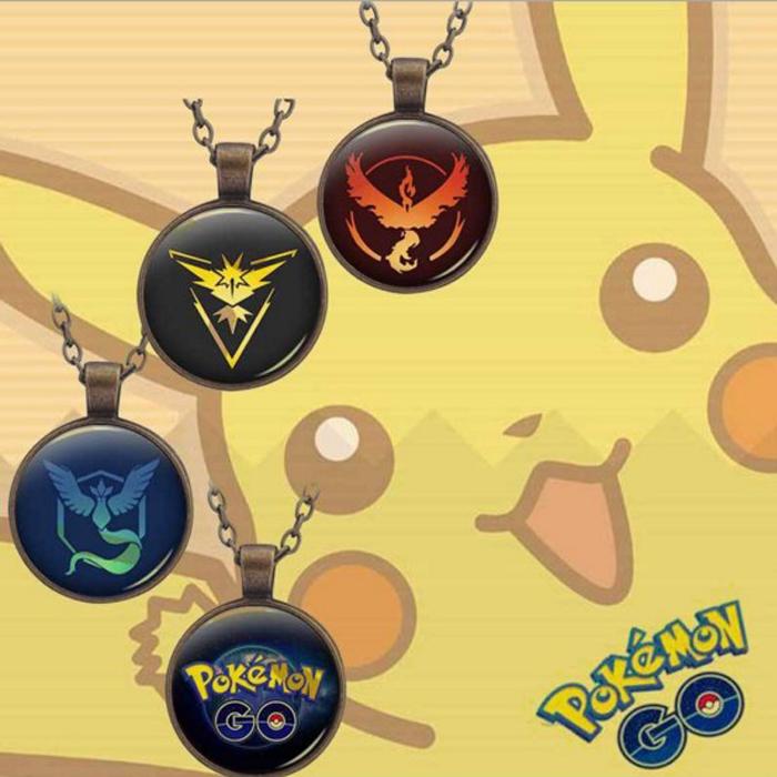 tangyizi輕鬆購【DS030】pokemon 口袋妖怪寵物精靈神奇寶貝精靈球時光寶石項鍊(預購款10天)