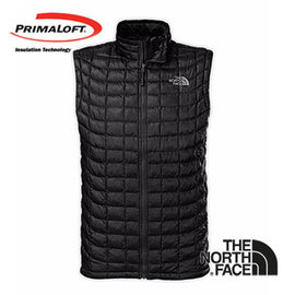The North Face 男 PrimaLoft ? ThermoBall? 保暖背心 黑 C940