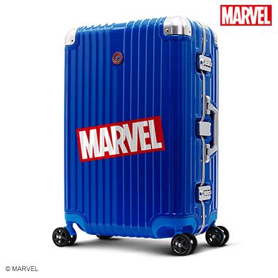 【加賀皮件】Deseno Marvel 漫威復仇者 鏡面 PC 20吋 細鋁框箱 行李箱 旅行箱 美國隊長 DL2413