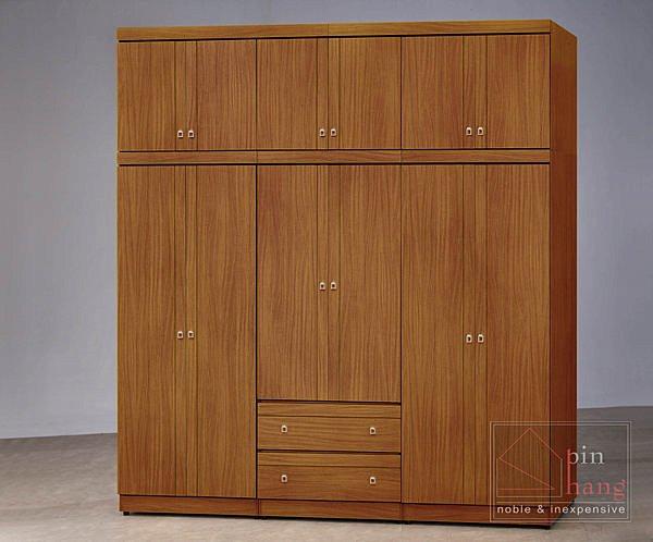 【尚品家具】CF-362 柚木 3x6尺 衣櫥