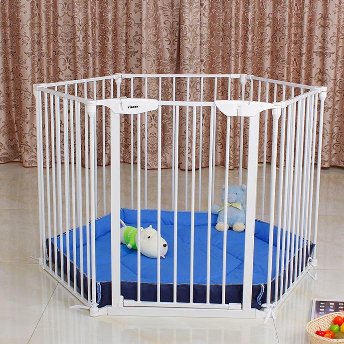 圍欄 護欄 門欄 多功能圍欄 寵物圍欄 幼兒護欄 遊戲圍欄 6片套裝