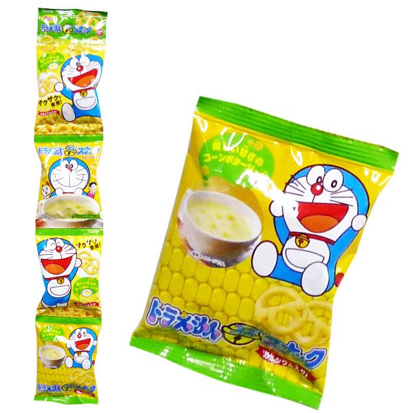 Bandai萬代哆啦A夢4連小餅乾-玉米濃湯(40g)