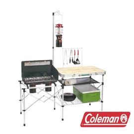 Coleman 輕便廚房桌 CM-3126J|料理桌|行動廚房|露營
