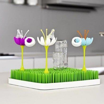 美國 boon GRASS 晾乾架草皮配件 奶瓶餐具#白/紫/藍  隨機出貨不挑款 ☆真愛香水★