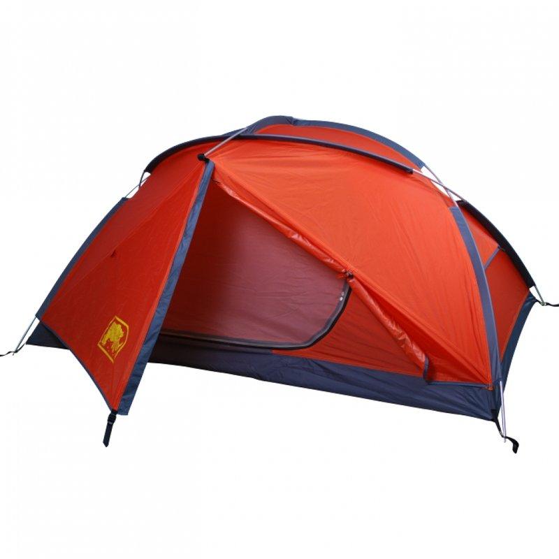 【露營趣】中和 送防水地布手電筒 台製 犀牛 RHINO G-22 鋁柱二人單層超輕登山帳篷 二人帳 雙人帳