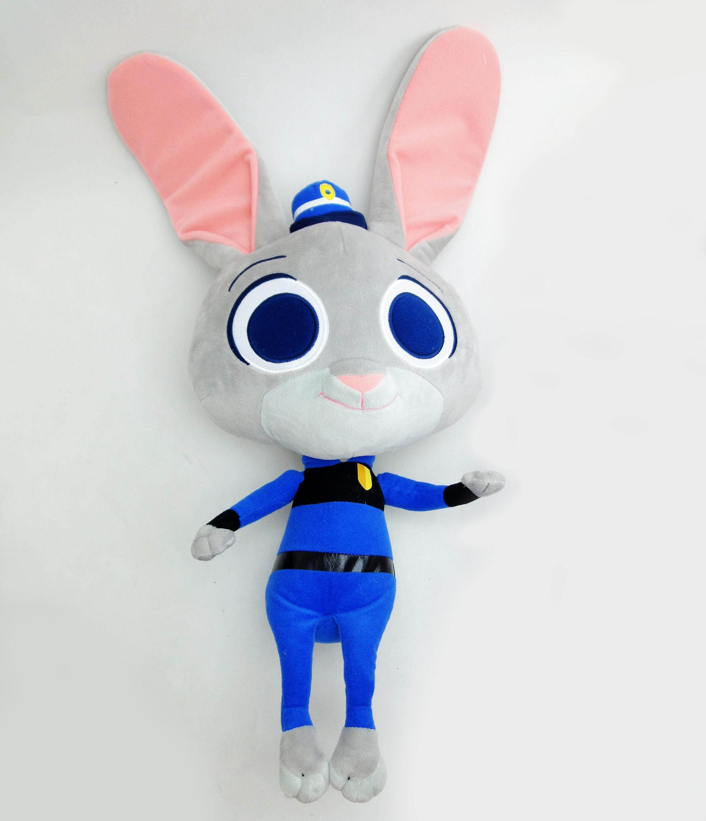 【UNIPRO】迪士尼 動物方城市 Zootopia 哈茱蒂 Judy Hopps Q版 兔子 警察 玩偶 60公分 絨毛娃娃