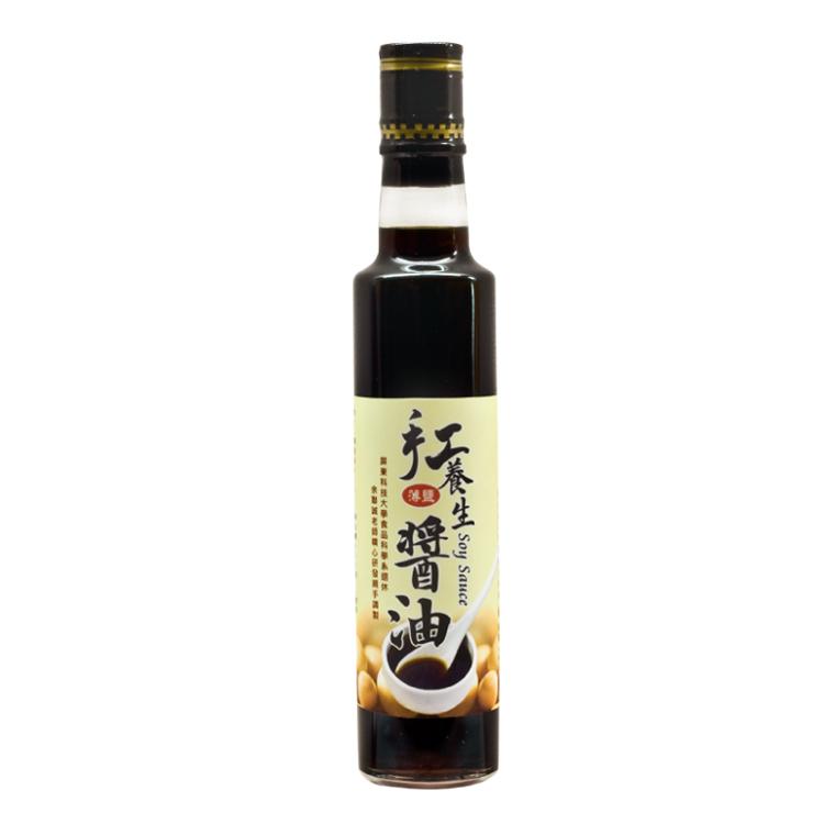 【胡麻園】手工養生醬油 300公克/瓶
