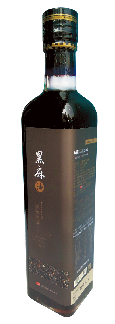 【胡麻園】黑麻油 500ml/瓶 二瓶1000元