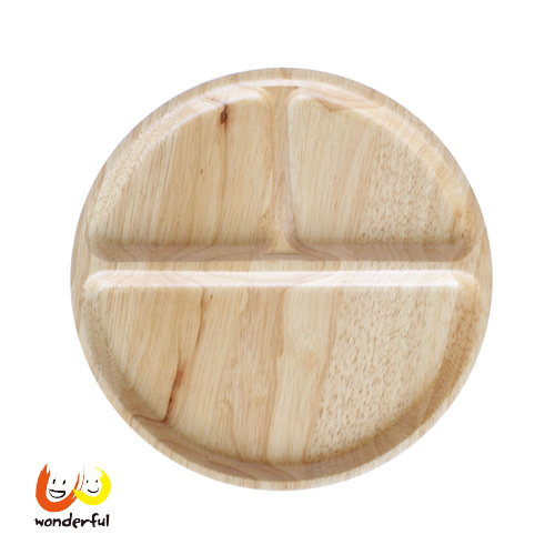 ACACIA 圓形原木分隔餐盤