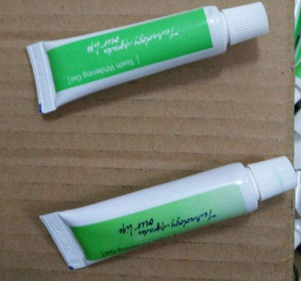 whitelight潔牙器冷光牙齒美白儀牙膏凝膠49元(1組2劑)