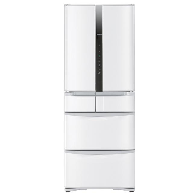 ★預購4月底到貨★【日立HITACHI】日本原裝變頻475L。六門電冰箱。星燦白(RSF48FJ/RSF48FJ_W)
