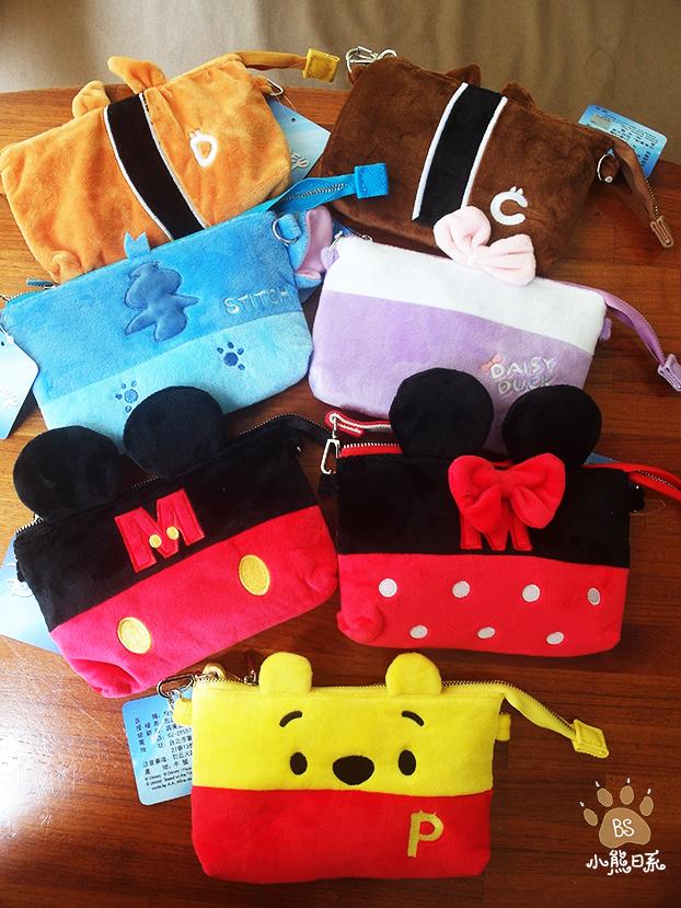 小熊日系* 迪士尼 觸控手機袋 手機背帶 手機袋 收納袋 手機包 可斜背 小提袋
