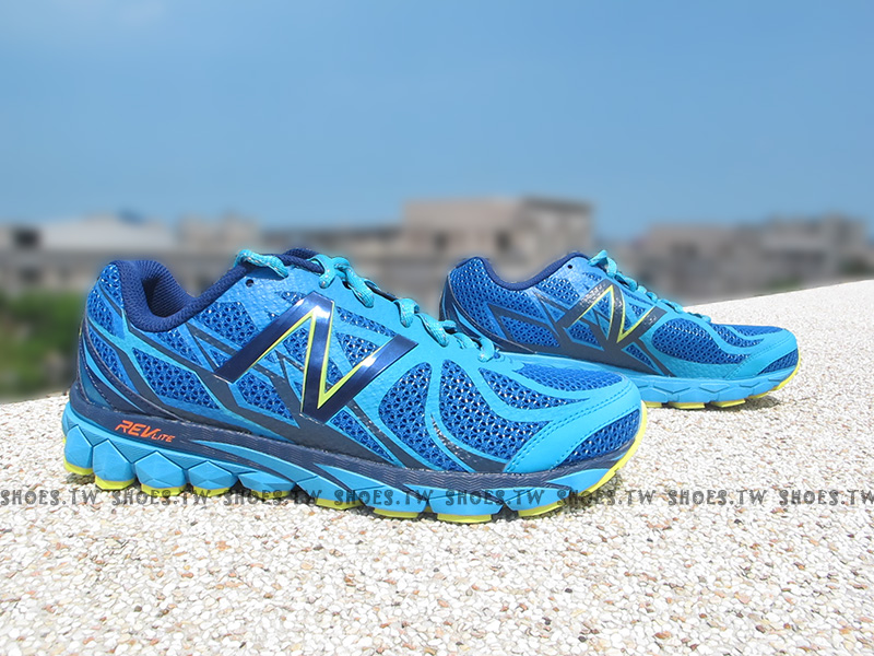 [27cm]《超值4.9折》Shoestw【M3190BL1】NEW BALANCE 慢跑鞋 藍黑 2E楦頭 男生