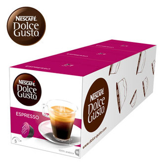 即期品出清! 雀巢 新型膠囊咖啡機專用 義式濃縮咖啡膠囊 (一條三盒入) 料號 12225838 ★買三送一(共四盒) 優惠至2016/12/31止