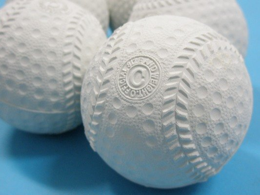 台灣製 C型海綿球 軟棒球 安全棒球 軟式棒球練習球/一個入 定[#40]~銘
