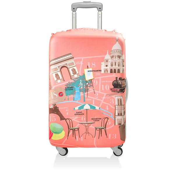 【騷包館】LOQI 德國品牌 時尚高防護防塵行李箱套(大)==巴黎 LO-LLURPA