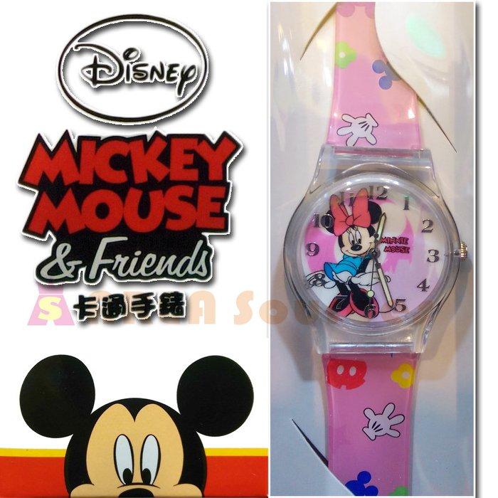 【禾宜精品】~正版~ 迪士尼 可愛米妮 手錶 兒童錶 休閒錶 卡通錶 生活百貨 (CC002)