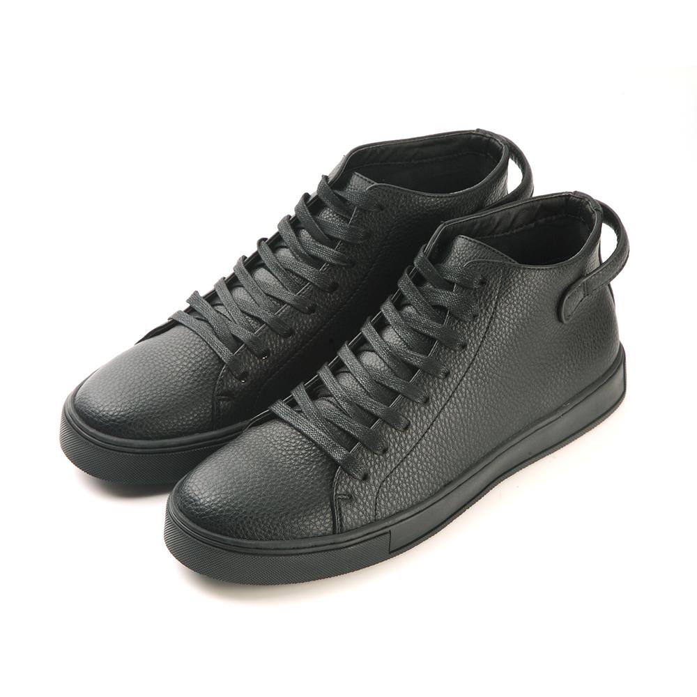 2MUCH英國潮流牛皮休閒鞋-黑色(40-44)