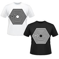 ☆ New Style ☆ 韓國天團 EXO 迷宮專輯同款短袖T恤 OVERDOSE 中毒 上癮 打歌服