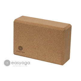 easyoga 瑜珈磚 高優質軟木瑜珈磚 80D-咖啡