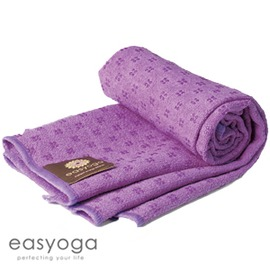 easyoga 瑜珈鋪巾 超細纖維手部鋪巾-紫色