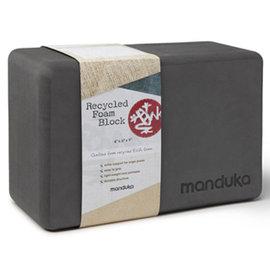 Manduka Recycled Foam Block 環保瑜珈磚 - 墨灰色